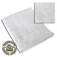 Махровое полотенце белое (50*90)