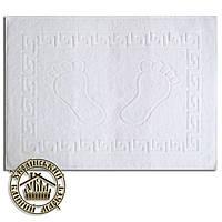 Махровое полотенце для ног белое (50*70)