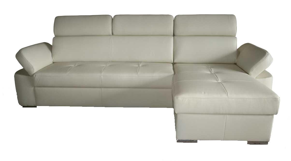Кожаный диван FX-15 с оттоманкой, не раскладной диван, мягкий диван, мебель из кожи