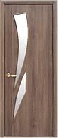 Камея Золотая Ольха (60, 70, 80, 90см). Коллекция Модерн. Межкомнатные двери МДФ Новый Стиль