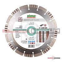 Алмазный круг Distar Bestseller Universal 1A1RSS/C3 125 x 22.22 Сегментный (бетон, гранит, мрамор, кирпич)