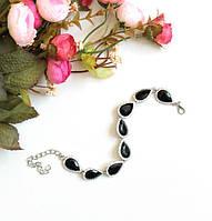 Женский браслет на руку Essia черный, магазин бижутерии