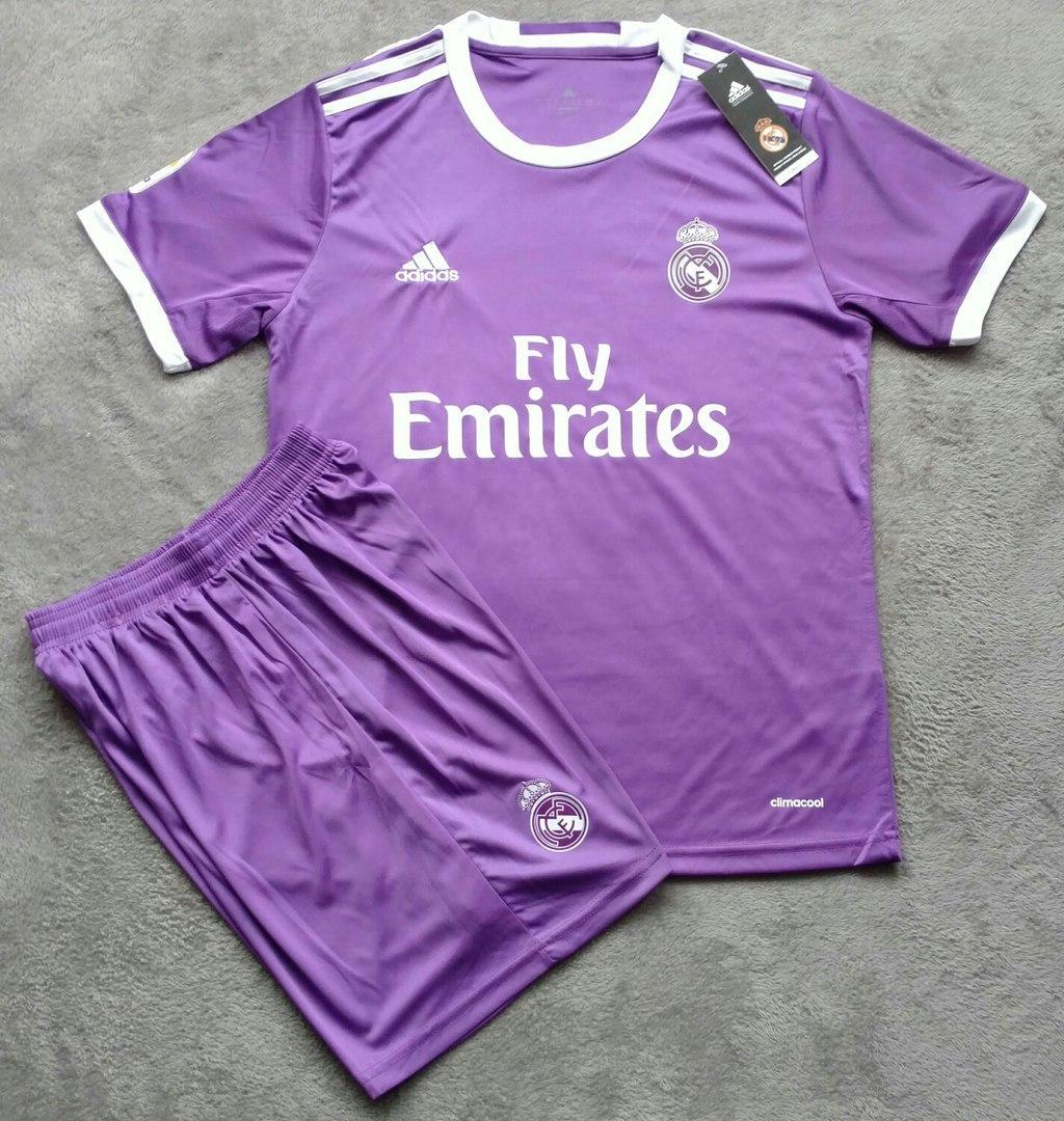 232cedb2 Футбольная форма Реал Мадрид (фиолетовый) - Интернет-магазин спортивной  одежды и обуви в