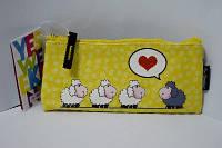 "Пенал ""1 Вересня"" - косметичка №531391 ""Love sheeps"""