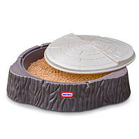 Песочница пенек с крышкой Little Tikes 644658