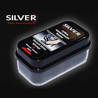 Губка блеск мини Silver черная