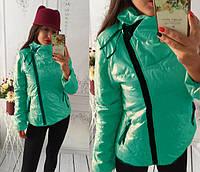 Куртка демисезонная женская  Ариана мята , куртки женские