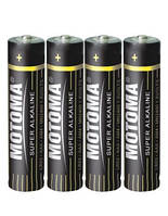 Батарейки Motoma - Super Alkaline ААА LR03 1.5V 4/60/1200шт