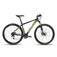 """Велосипед 29"""" PRIDE XC-29 HD черно-зеленый матовый 2016"""