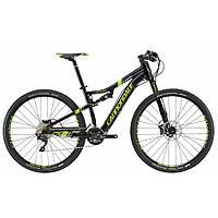 """Велосипед 29"""" Cannondale SCALPEL 4 2016 черный с зеленым REP"""