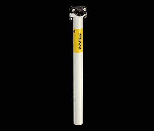 Подседельный штырь Funn BOB ARROW 400мм 30.9мм белый/желтый