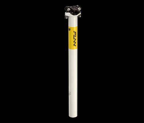 Подседельный штырь Funn BOB ARROW 400мм 30.9мм белый/желтый, фото 2