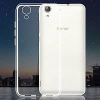 Силиконовый ультратонкий чехол для Huawei Y6 II 2