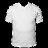 Футболка KLP Polo №1 белая