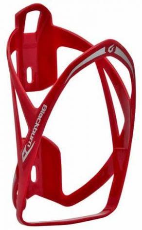 Флягодержатель Blackburn Slick пластик красный, фото 2