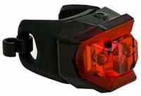 Мигалка задняя диодная Blackburn Click Rear, 2 диода Super-bright, 2 функц., с/бат., черная