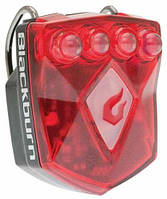 Мигалка задняя диодная Blackburn Flea 2.0 Rear USB, 4 диода Super-bright, 3 функц., с/ак.