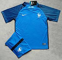 """Детская игровая форма Nike """"France"""" сборной Франции 2016-18"""