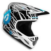 Шлем фулл SixSixOne EVO WIRED BLACK/CYAN XL 2012