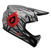 Шлем фулл SixSixOne EVO WIRED BLACK/RED XS 2012