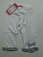 Леггинсы-бриджи трикотажные для девочек, размеры 98/104 арт. 1107, фото 1