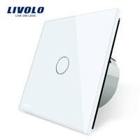Выключатель Livolo  C701-11, белый