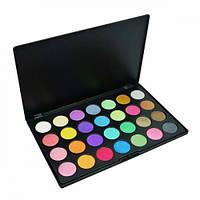 Профессиональная палитра полноцветных теней для век 28 оттенков, палетка для макияжа