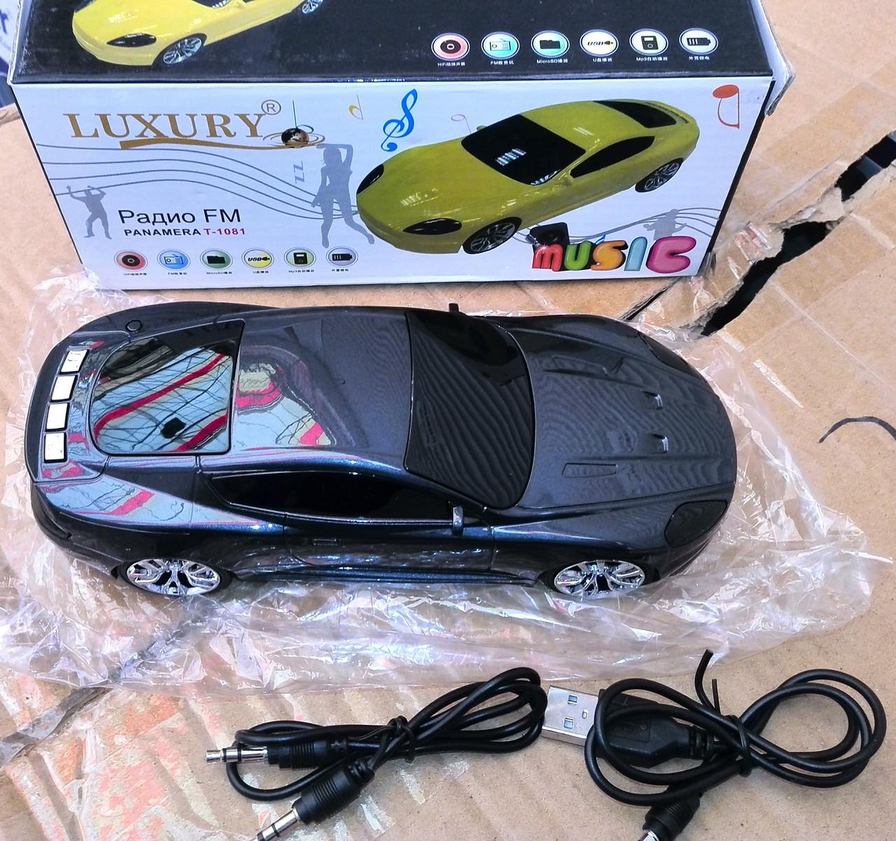 Портативная колонка Panamera T-1081 MP3, USB, FM