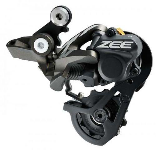Переключатель задний Shimano ZEE RD-M640 SS, 10-скор. стандарт пружина, SHADOW+ для FR 11-32/11-36T, короткий рычаг