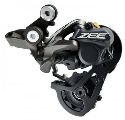 Переключатель задний Shimano ZEE RD-M640 SS, 10-скор. стандарт пружина, SHADOW+ для FR 11-32/11-36T, короткий рычаг, фото 2