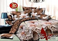 Комплект постельного белья 3 д семейный ранфорс 1,5