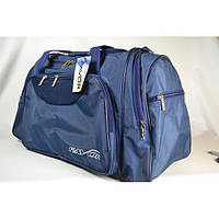 Мужская дорожная сумка синего цвета