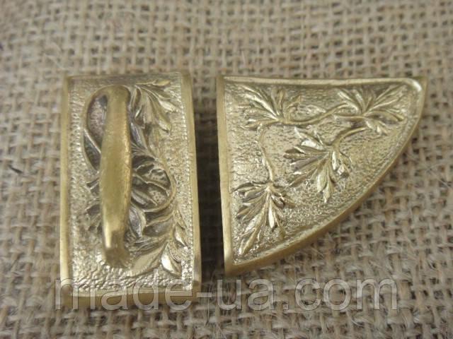 Бронзовый комплект для ножен № 33 - Мастерская PODARKI.IN.UA - авторские подарки для мужчин! в Днепре