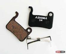Тормозные колодки Ashima для Shimano XTR, Saint, XT, LX, HONE, SLX