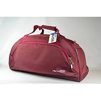 Бордовая сумка для спорта и путишествий