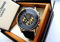 Часы мужские наручные Breitling черное золото, часы недорого