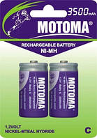 Аккумуляторы Motoma - Rechargeable Battery C Ni-MH 3500mAh 1.2V 2/20/200шт