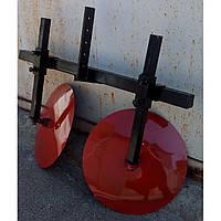 Комплект окучник дисковый d-360мм +двойная сцепка