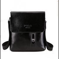 Удобная каждодневная мужская сумка Polo. Хорошее качество. Доступная цена. Дешево. Код: КГ1200