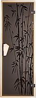 """Двери для бани и сауны (модель """"Бамбук"""") 678х1880, 8мм стекло"""