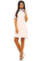 Ж221 Платье с белым воротничком в расцветках размеры 42-48, фото 2