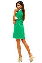 Ж221 Платье с белым воротничком в расцветках размеры 42-48, фото 3