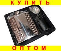 Подарочный набор Фляга 4 рюмки воронка Mercedes