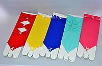 Перчатки нарядные детские разные рацветки