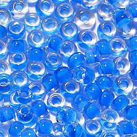 Бісер Preciosa Чехія №38336 синій  профарбований