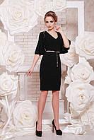 Элегантное черное платье. Красивое черное платье. Черное облегающее платье.Черное платье.