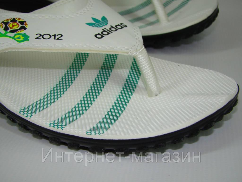 Вьетнамки мужские Adidas (40-45р) код 7016 цвет зеленый