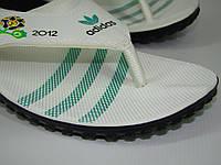 Вьетнамки мужские Adidas (40-45р) код 7016 цвет зеленый, фото 1