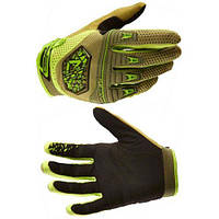 Перчатки Royal Victory Gloves Olive Green/Lime Green