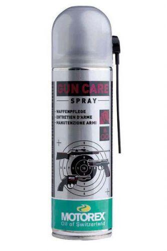 Масло-спрей Motorex Gun Care (302301) для оружия, очищает, смазывает, защищает, 300мл